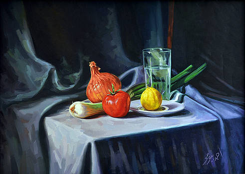 Still life 02 by Ahmed Bayomi