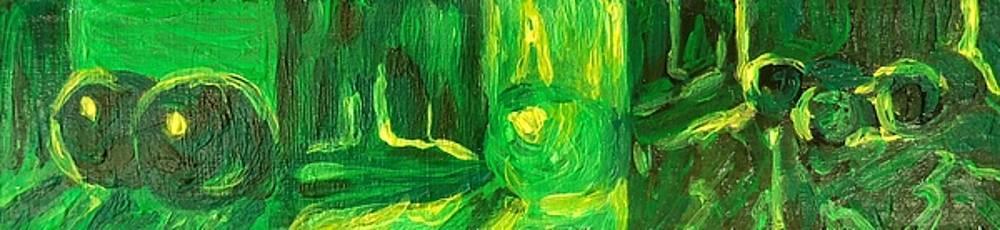 Still Life Green by Hatin Josee