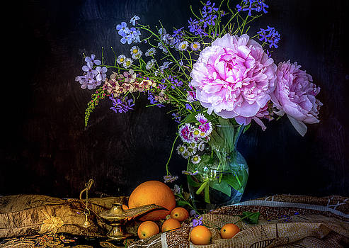 Still life -Peony by George Lai