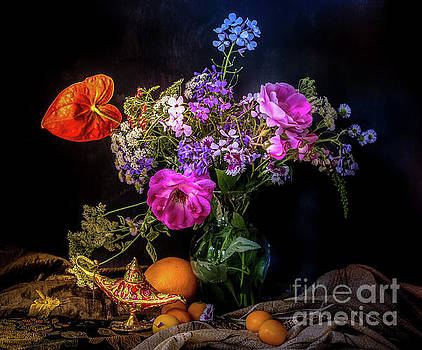 Still-life-summer-flower by George Lai