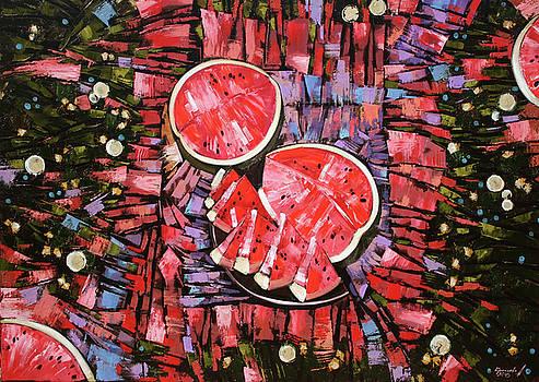 Still life. The taste of summer. by Anastasija Kraineva