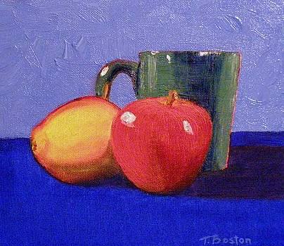 Still Life with a Green Mug by Teresa Boston