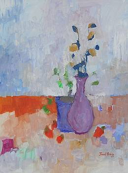 Still Life with Casein 1.7 by Janel Bragg