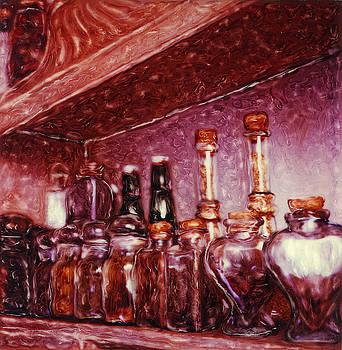 Renata Ratajczyk - Still Life with Spice Jars - Polaroid SX-70