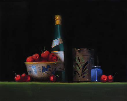 Still life with the Alsace jug by Barry Williamson