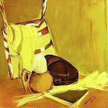 Still life with wool socks by Manuela Constantin