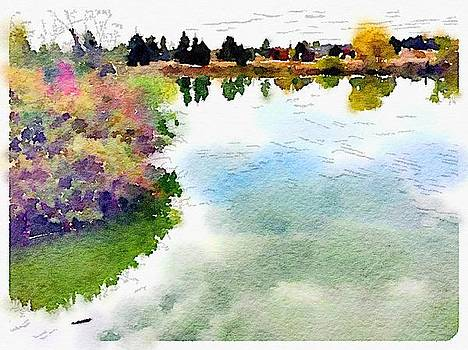 Still Waters Gather Clarity by Sharon Wunder Photography