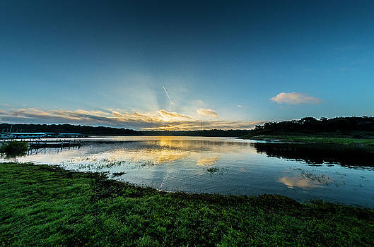 Stillhouse Lake Marina 2 by Bob Marquis