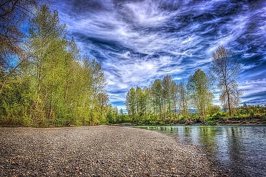 Stilliguamish River by Spencer McDonald