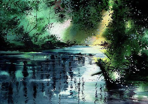 Stillness Speaks 2 by Anil Nene