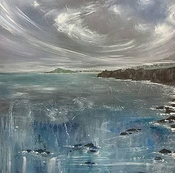 St.Ives Coast Path, Cornwall  by Keran Sunaski Gilmore