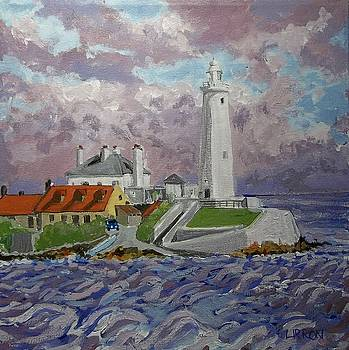 St.Mary's Lighthouse by Fred Urron