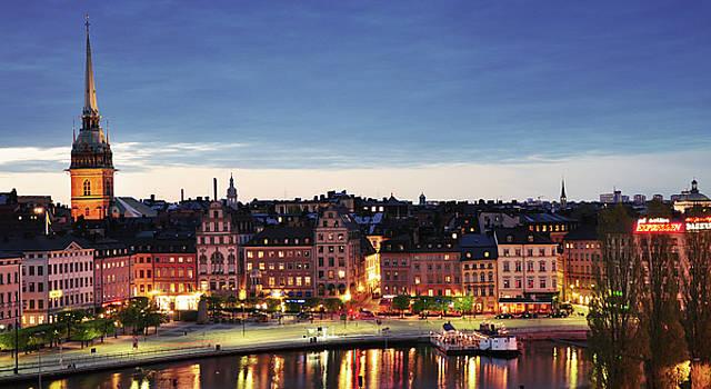 Stockholm by night by Nick Barkworth
