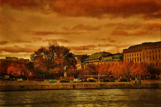 Stockholm in Autumn VI by Ramon Martinez