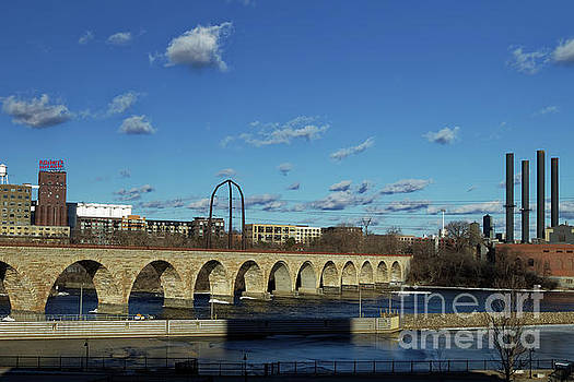 Stone Arch Bridge over the Mississippi by Natural Focal Point Photography