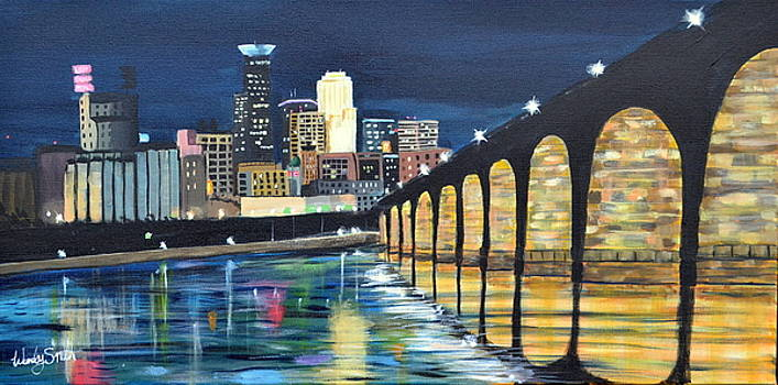 Stone Arch Bridge by Wendy Smith