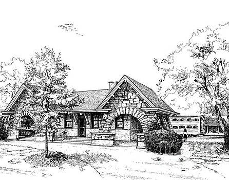 Stone Ave. Train Station by Mary Palmer