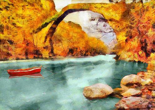 Stone bridge 2 by George Rossidis