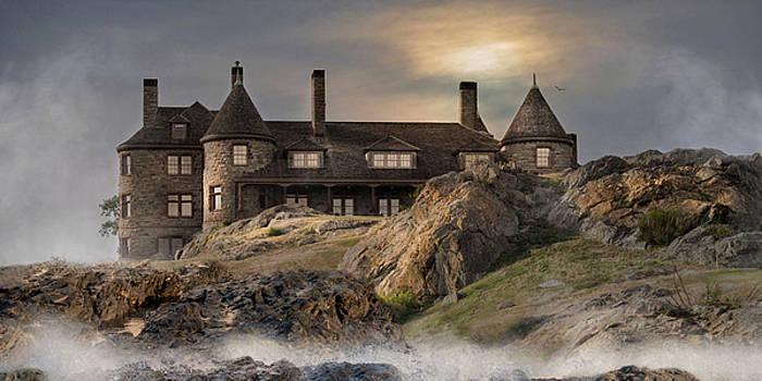 Stone Castle Newport by Robin-lee Vieira