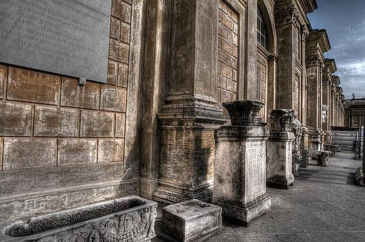 Stone Pilars by Miguel Pardo