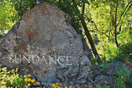 Steve Ohlsen - Stone Sign - Sundance Mountain Resort