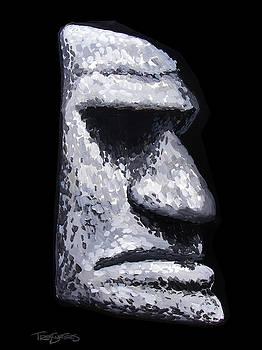 Stone Tiki Man by Trey Surtees