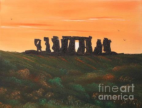 Stonehenge by Cynthia Adams