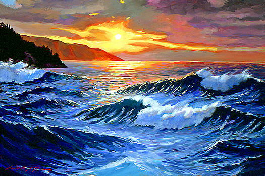 David Lloyd Glover - Storm Clouds - Catalina Island