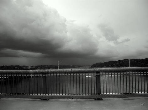 Storm Clouds On The Hudson by Bruce Carpenter