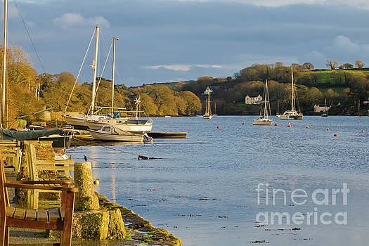 Storm Light at Mylor Bridge by Terri Waters