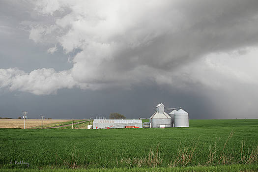Storm on the Great Plains by Andrea Kelley