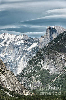 Sandra Bronstein - Storm Over Half Dome