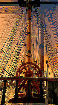 Storm Ship of Old by Lori Seaman