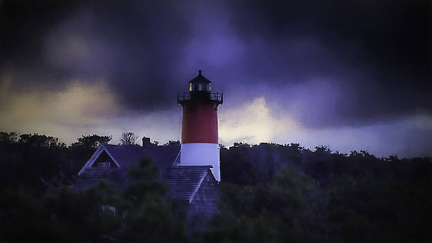 Stormy Nauset Light  by Kate Hannon