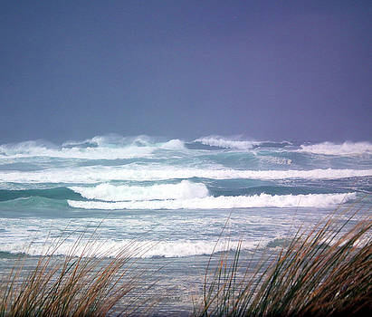 Stormy Ocean by Rex E Ater