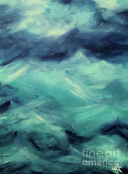 Stormy Sea by Jackie Carpenter