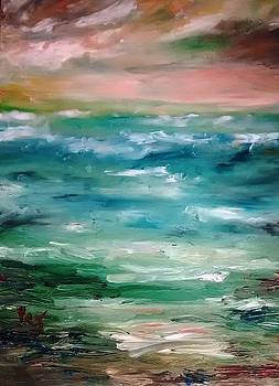 Stormy Sea by Patricia Taylor