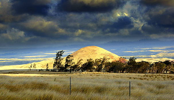Stormy Skies Over Sunset Cinder Cone by Lori Seaman