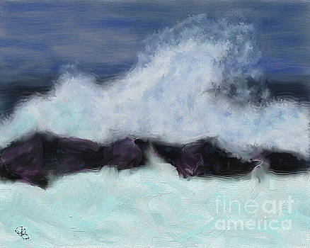 Stormy Waters by Arlene Babad