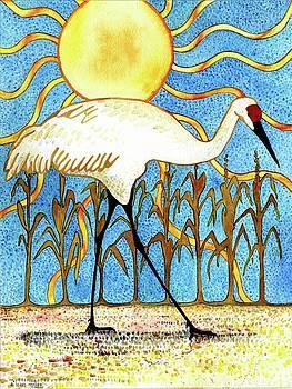 Storybook Crane by A Leon Miler