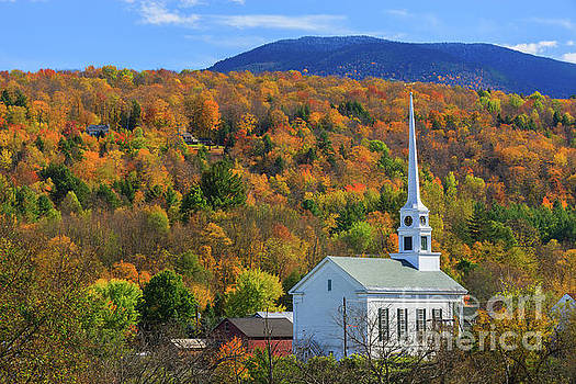 Stowe Community Church, Vermont by Henk Meijer Photography