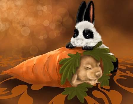 Strange carrot by Veronica Minozzi