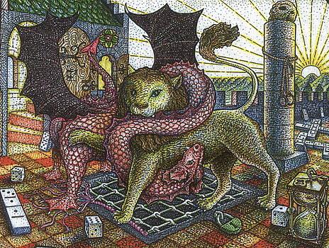 Strange Reverie detail by Bill Perkins