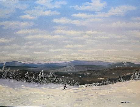 Stratton Skiing by Ken Ahlering