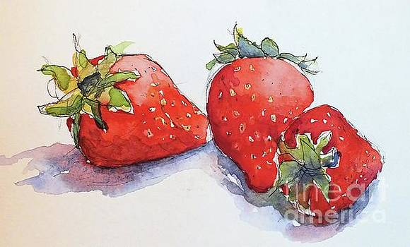 Strawberries by Patricia Henderson