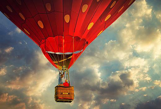 Strawberry Balloon by Victoria Winningham