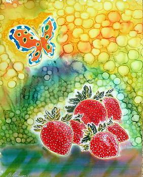 Strawberry Garden by Beverly Johnson