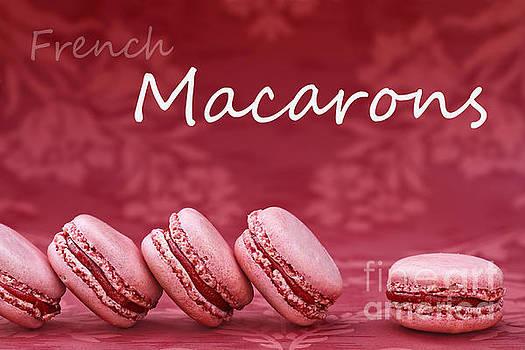 Strawberry Macaroons by Stephanie Frey
