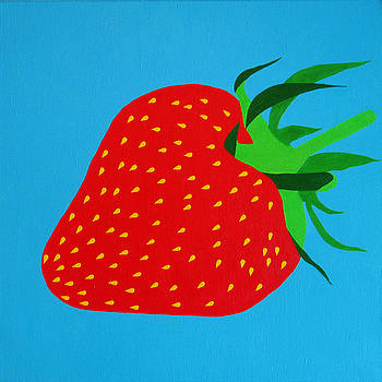Strawberry Pop by Oliver Johnston