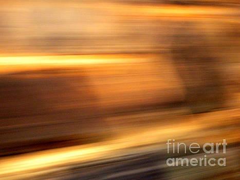Streaks-From a Rolling Train by Robert Riordan